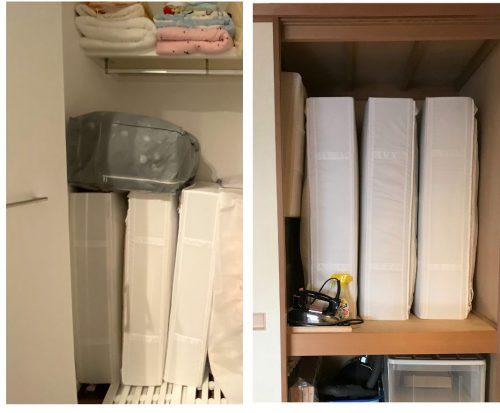 IKEAのSKUBB (スクッブ)を使った収納