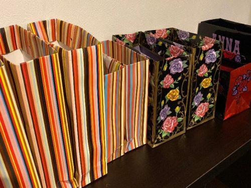 ブランド紙袋の活用例