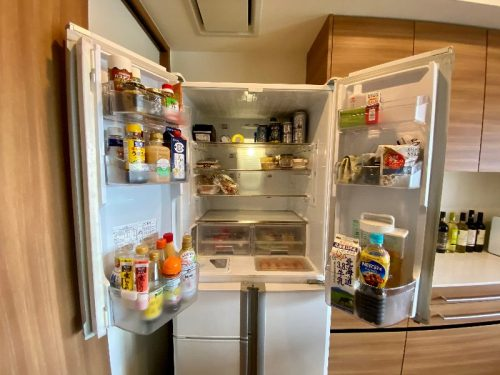 冷蔵庫リセット