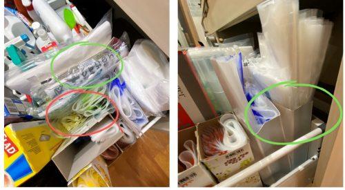 ゴミ袋の収納例